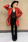 Burnt-orange-suede-some-velvet-vintage-jacket