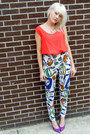 Abstract-some-velvet-vintage-esprit-pants