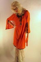 dashiki some velvet vintage dress
