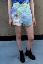 kitten some velvet vintage shorts