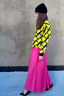Hot-pink-palazzo-some-velvet-vintage-pants