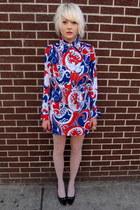 60s some velvet vintage dress