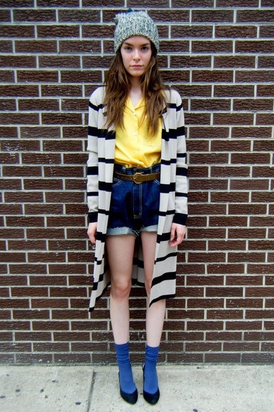 striped maxi some velvet vintage cardigan