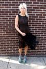 Sheer-some-velvet-vintage-dress