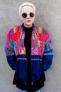 Neon-some-velvet-vintage-jacket