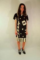 mod some velvet vintage dress