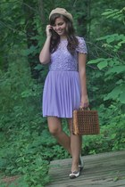 chiffon Us trendy dress - thrifted purse