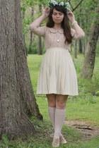 Forever21 shirt - handmade hat - thrifted skirt