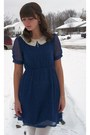 Navy-modcloth-dress-navy-thrifted-heels-silver-gift-from-boyfriend-necklace-