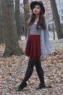 Black-oasap-hat-black-lulus-tights-brick-red-oasap-skirt