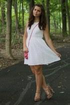 white Delias dress