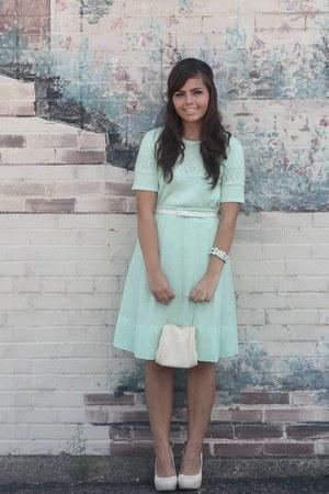 aquamarine vintage sweater - aquamarine vintage skirt