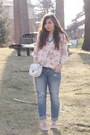 Periwinkle-aeropostale-jeans-pink-forever21-sweater-white-aeropostale-purse