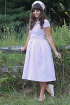 light purple thrifted dress