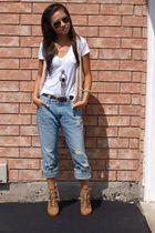 Kitson jeans - Jacob vest - Zara boots