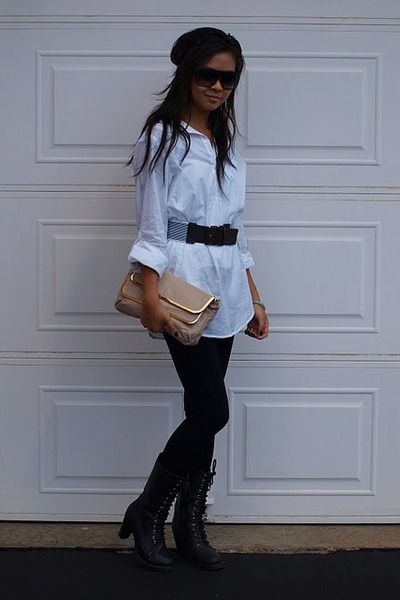 FCUK bag - Forever 21 boots