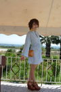 Blue-handmade-vintage-dress-brown-steve-madden-shoes-brown-vintage-purse-g