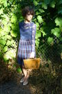 Vintage-skirt-american-apparel-top-vintage-shoes-vintage-purse