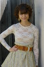 American-apparel-top-vintage-skirt-american-apparel-skirt-steve-madden-sho