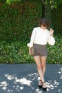 Vintage-top-urban-outfitters-shorts-black-asos-shoes-vintage-purse