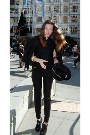 MaxAzria cape - envy heels