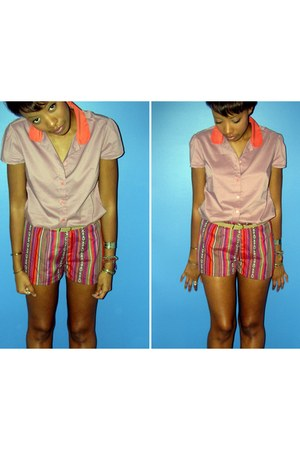 Forever 21 shorts - Gap top
