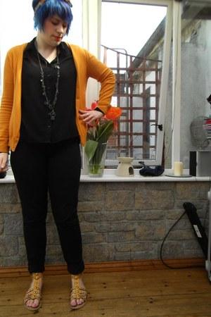 sheer 5 Primark shirt - 89 American Apparel jeans - 3 Vero Moda cardigan