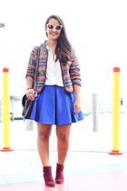 Forever 21 boots - Forever 21 jacket - Forever 21 skirt