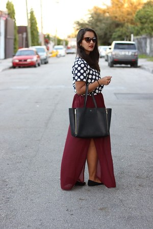 Forever 21 skirt - ann taylor bag