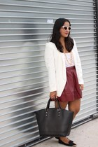 THE BURGUNDY SKIRT