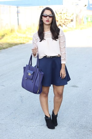 Forever 21 skirt - 31 Phillip Lim for Target bag - Forever 21 blouse