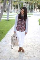 Payless boots - H&M pants - Zara top
