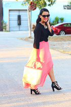 Forever 21 skirt - H&M top - Topshop sandals