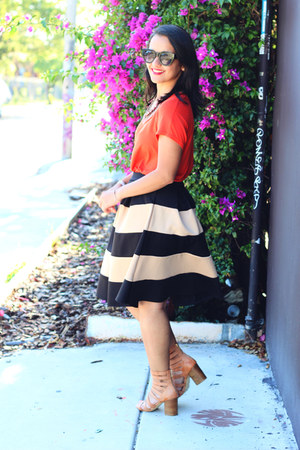 Love Culture skirt - Forever 21 sandals