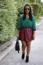 Forever 21 skirt - H&M necklace