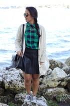Forever 21 skirt - H&M cardigan