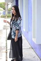 LC Lauren Conrad blazer - Forever 21 skirt