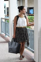Forever 21 skirt - maxi bag JustFab bag