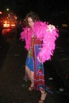 Diane Von Furstenberg dress - vintage find from Key West boutique coat - Prada p