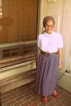 shirt - skirt - flats