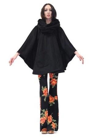 black Lindsey Thornburg coat