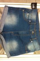 blue short denim Cheap Monday shorts