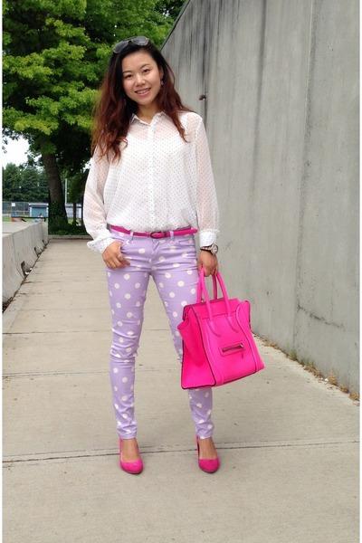 celine medium box bag price - light-purple-forever21-jeans-hot-pink-celine-bag_400.jpg