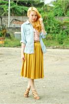 skirt Forever 21 skirt - bustier KHT chus top