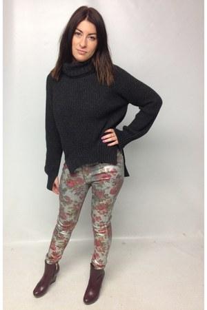 goldsign jeans - dvf boots - joseph jumper
