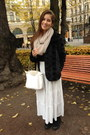 Faux-fur-h-m-coat-gina-tricot-scarf-longchamp-bag-white-h-m-skirt