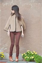 Camilla Skovgaard London boots - TWENTY8TWELVE BY SMILLER jeans - J Crew cape