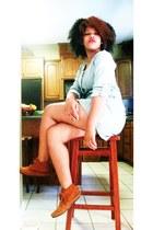Minnetonka boots - denim Charlotte Russe dress