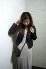 Black-h-m-jacket-beige-t-by-alexander-wang-dress-black-vintage-purse
