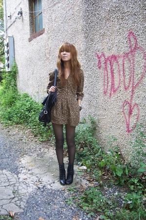 H&M dress - payless boots
